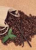 Vanilla Coffee — Stock Photo
