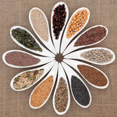 Seed Food Sampler — Stock Photo