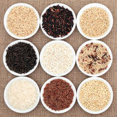 Rice Selection — Stock Photo