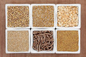 Cereal Food Variety — Stock Photo