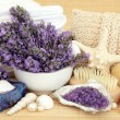 Lavender Beauty Treatment — Stock Photo