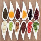 Hälsosam mat val — Stockfoto