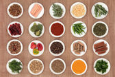 ört och krydda sampler — Stockfoto