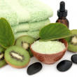 Kiwi Spa Treatment — Stock Photo
