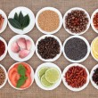 Food Ingredient Sampler — Stock Photo