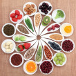 Stock Photo: Health Food Platter