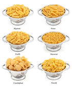 Pasta Types — Stock Photo