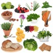 Healthy Food Sampler — Stock Photo #28640057
