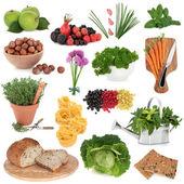 健康食品取样器 — 图库照片