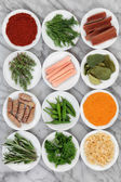 Fresh Herbs and Spices — Stock Photo