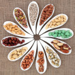 Stock Photo: Nut Sampler