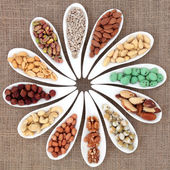 Nut Sampler — Stock Photo