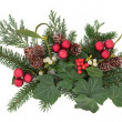 Christmas Decorative Display — Stock Photo