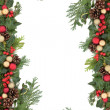 Christmas Border — Foto de Stock