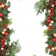 Christmas Border — Stock Photo