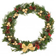 Festive Wreath — Stock Photo