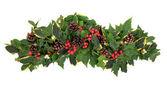 Arreglo floral de navidad — Foto de Stock