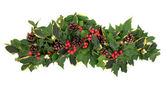 Jul blomsterarrangemang — Stockfoto