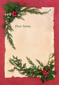 Christmas Eve Letter to Santa — Stock Photo