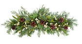 Christmas Floral Display — Stock Photo