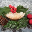 Mince Pie — Stock Photo
