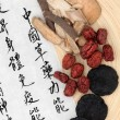 Chinese Herbs — Stock Photo