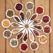 Chinese Medicine Sampler — Stock Photo