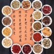 Stock Photo: Chinese Healing Herbs
