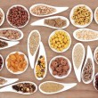 Breakfast Cereal Sampler — Stock Photo