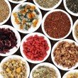 Stock Photo: Healthy Herbal Teas