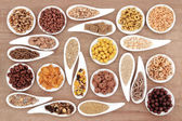 Breakfast Cereal Sampler — 图库照片