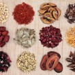 Stock Photo: Traditional Chinese Herbal Medicine