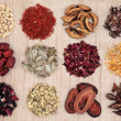 Traditional Chinese Herbal Medicine — Stockfoto