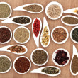 Herb Tea Sampler — Stock Photo