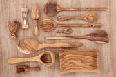 Olive Wood Products — Stockfoto
