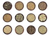 Green Tea Selection — Stock Photo