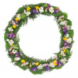Stock Photo: Wildflower Wreath