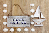 Gone Sailing — Foto de Stock