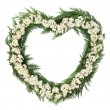 Stock Photo: Hawthorn Blossom Wreath