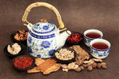 Herb Tea Selection — Stock Photo