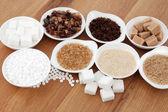 Zucker-typen — Stockfoto