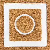Golden Flax Seed — Stock Photo