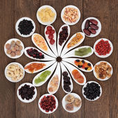 Dried Fruits Sampler — Stock Photo