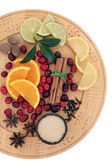 Mulled Wine Ingredients — Stock Photo