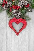 Romantyczny świątecznych dekoracji — Zdjęcie stockowe