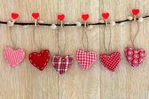 Decoraciones de corazón — Foto de Stock