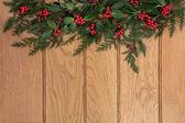 Traditional Christmas Border — Stock Photo