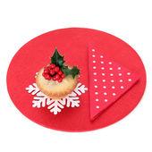 рождественский пирог фарш — Стоковое фото