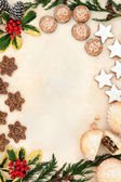 Christmas Snack Food — Stock Photo