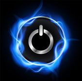 Power button design — Stock Vector